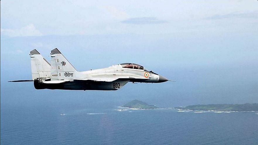 File photo of MiG-29K in flight.