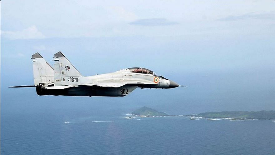 File photo of MiG-29K in flight. Image used for representational purposes.