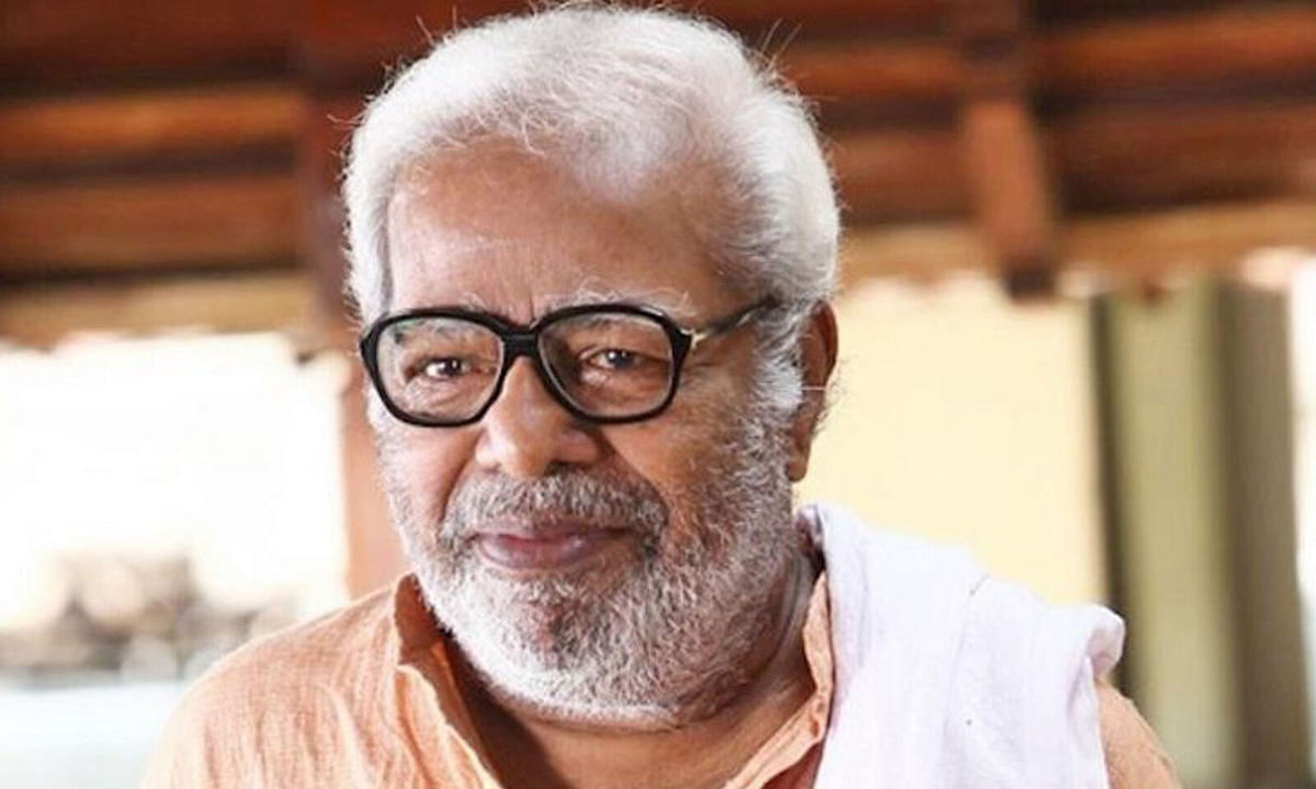 Actor Thilakan who spoke against a 'Nair lobby' in the Malayalam film industry.