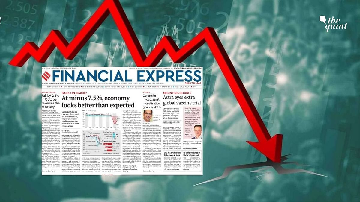 'India in Technical Recession But...': What Newspapers Said on GDP