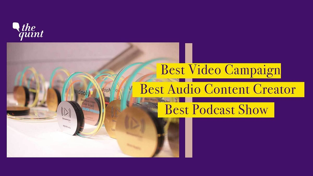 The Quint Registers  Three Wins at the StreamCon Asia Awards 2020
