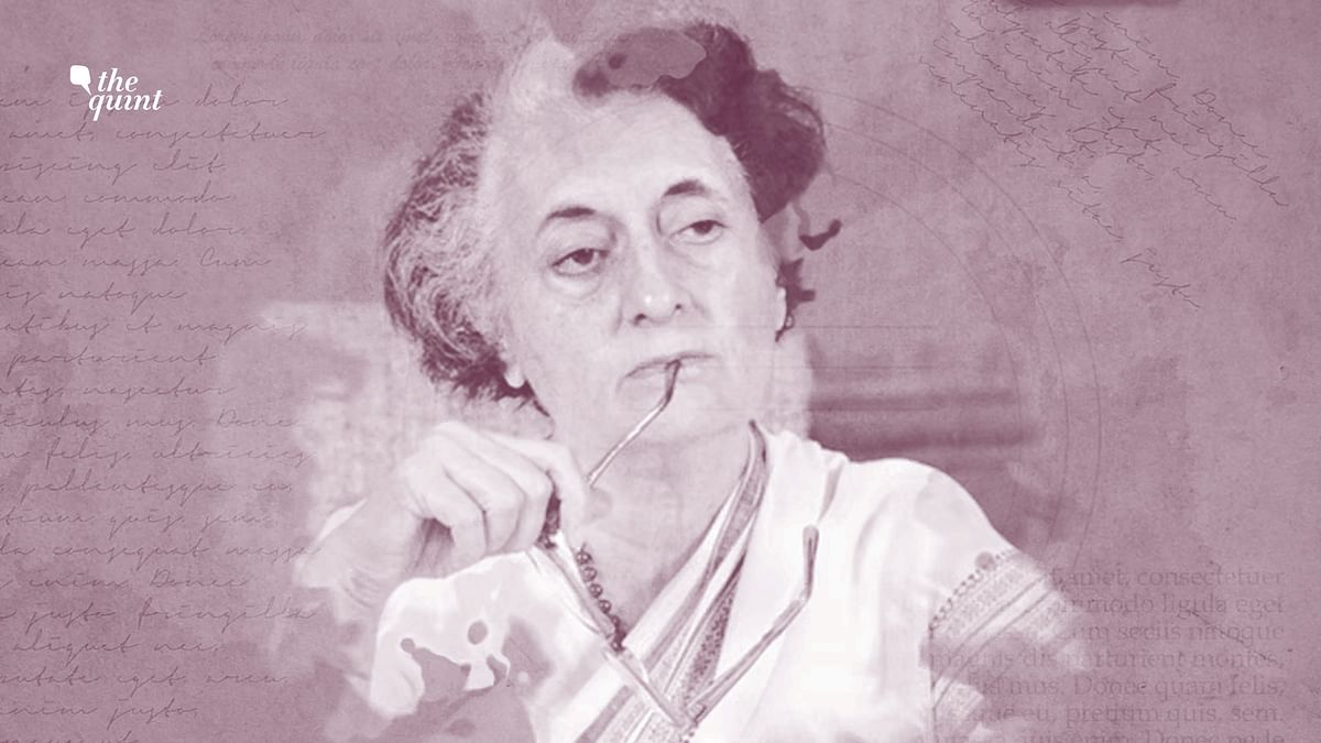 Image of Indira Gandhi used for representational purposes.
