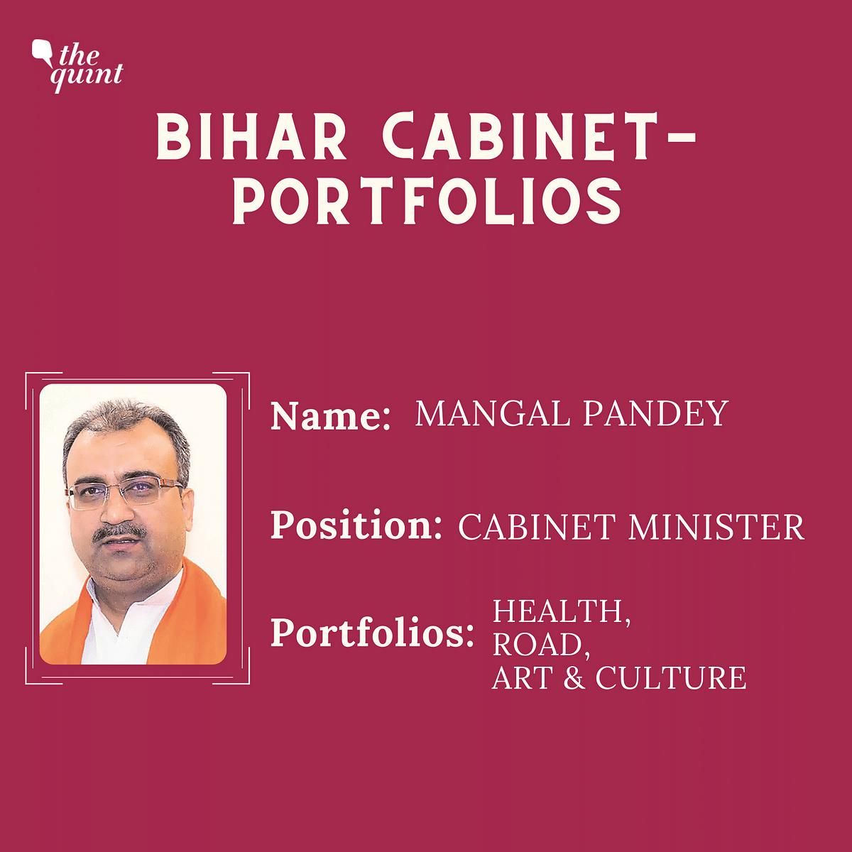 Bihar Cabinet: Nitish Keeps Home, Tarkishore Prasad Gets Finance