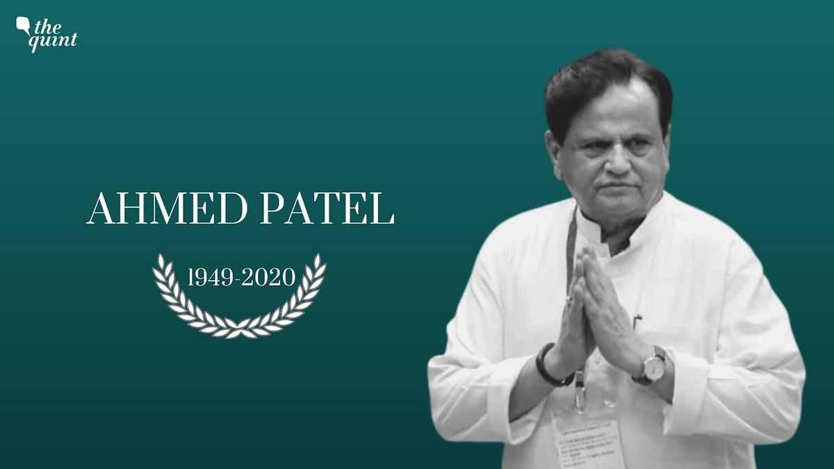 Ahmed Patel: A Confidant to Three Generations of Gandhis