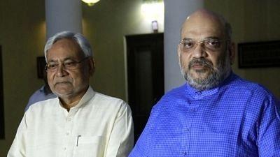 BJP chief Amit Shah spoke to Bihar Chief Minister Nitish Kumar today.