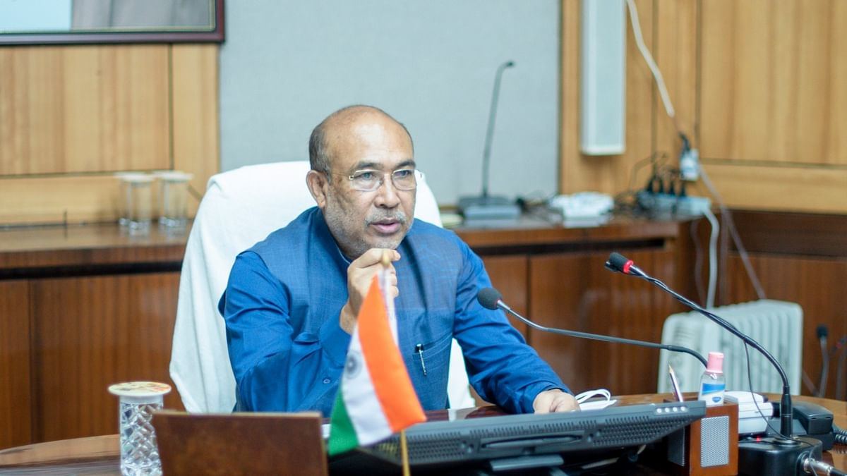 Chief Minister of Manipur N Biren Singh Tests Positive for COVID