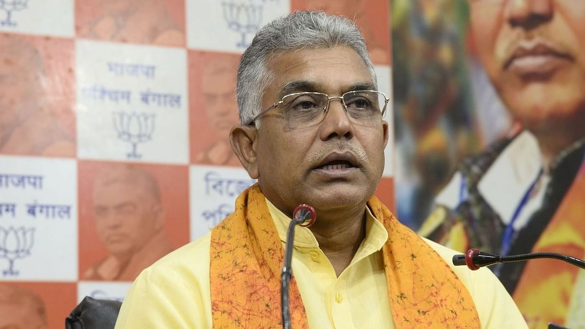 Dilip Ghosh, BJP President, West Bengal.