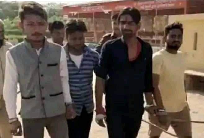 Four Hindu Men  Arrested for Chanting Hanuman Chalisa in Idgah