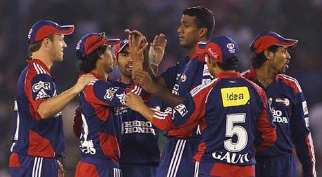 Delhi Daredevils had 7 wins in 14 games, but lost out to a place in the Top 4 due to a lesser net run rate.
