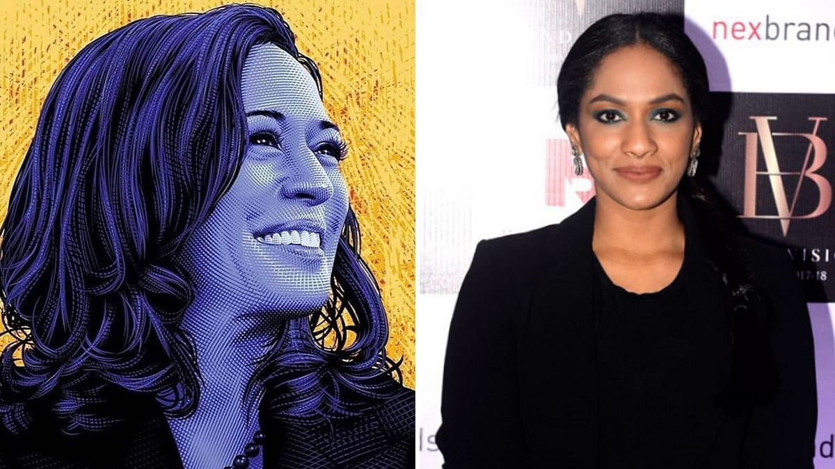 Today I see Kamala Harris & I Know Different is So Good: Masaba
