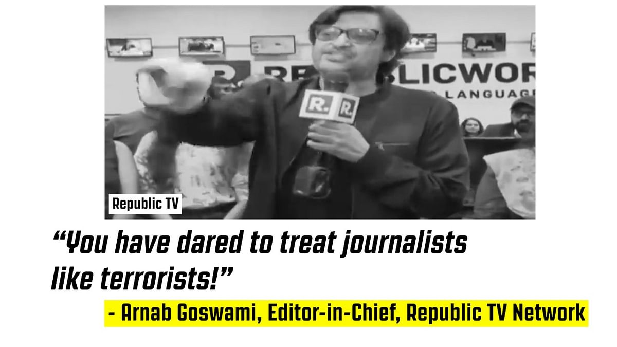 Uphold Arnab Goswami's Personal Liberty; Then, Uphold It for All