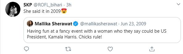 Did Mallika Sherawat Predict Kamala Harris' Win? Here's Proof