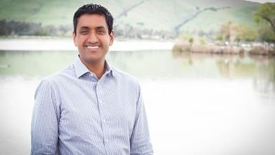 Khanna currently represents California's 17th congressional district.