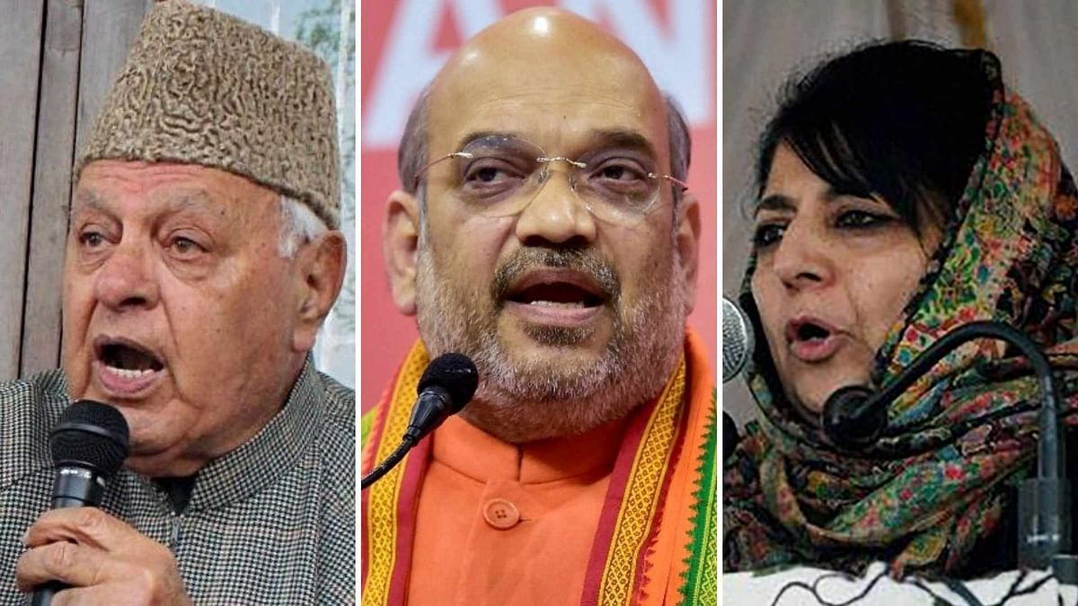 'Gupkar Gang' Row: Irony Died Says Mufti; Fraud by BJP Claims Cong