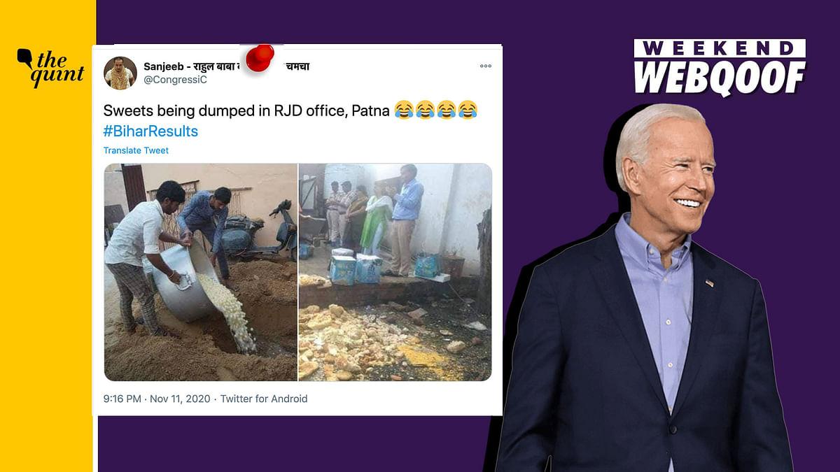 WebQoof Recap: Of Bihar Polls & Biden Losing Prez-Elect Status
