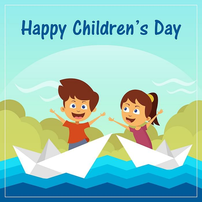 Children's Day wishes image for Facebook