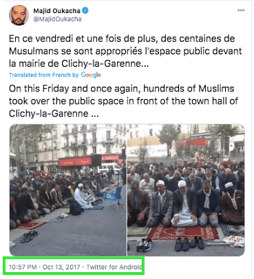 Old Video of Muslims Offering Namaz on Streets of France Revived