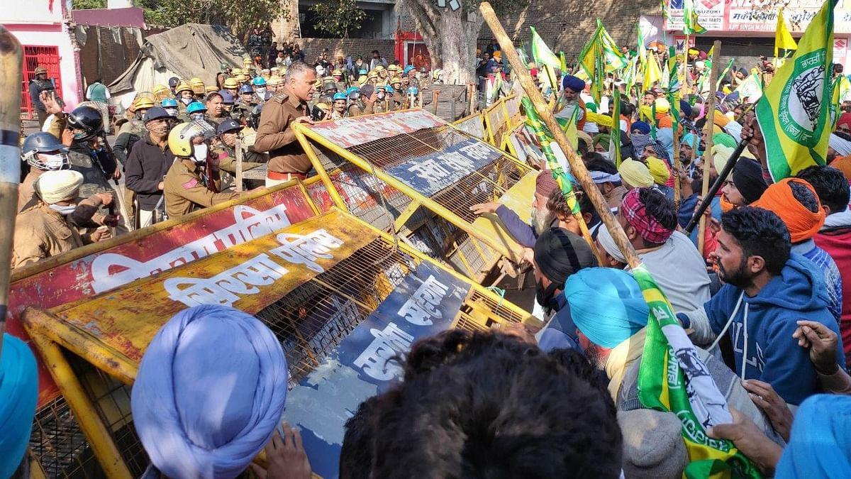 Clashes Amid Farmers Protest: Delhi Police Books Unknown People