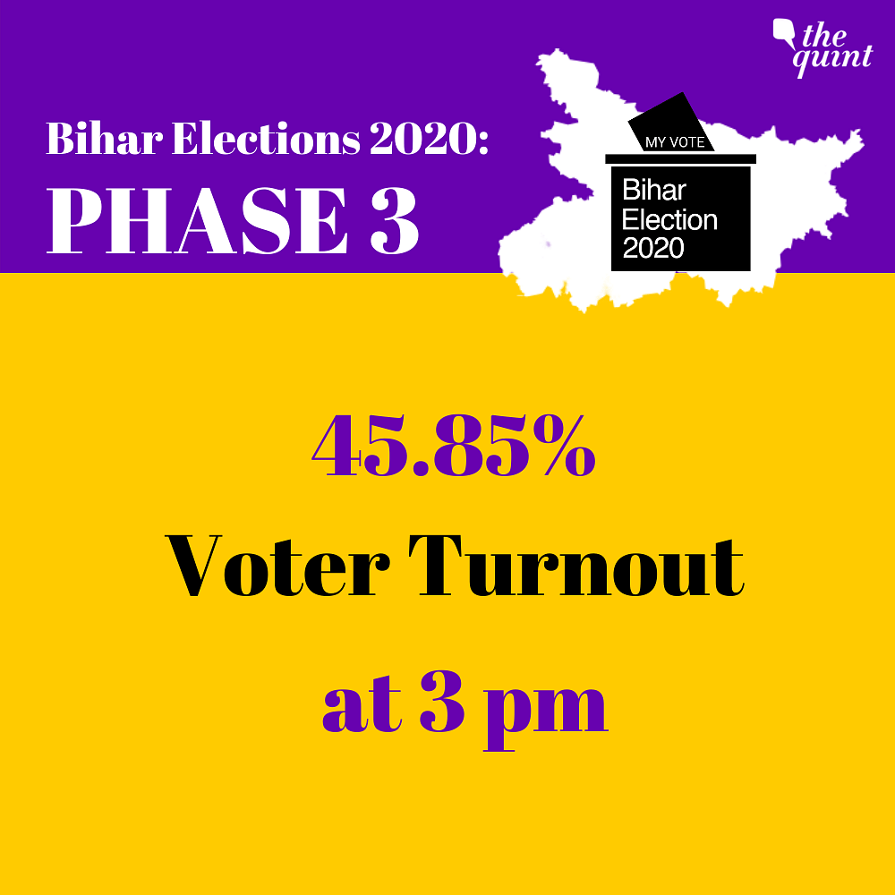 Voting Concludes in Bihar With 54% Voter Turnout Till 5 PM