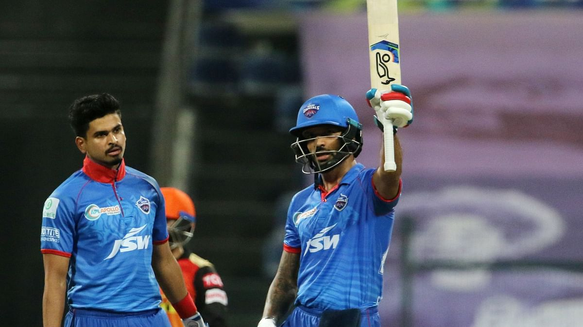 Riding on Shikhar Dhawan's 78, Delhi Capitals posted a commanding 189/3 after electing to bat first in Qualifier 2.