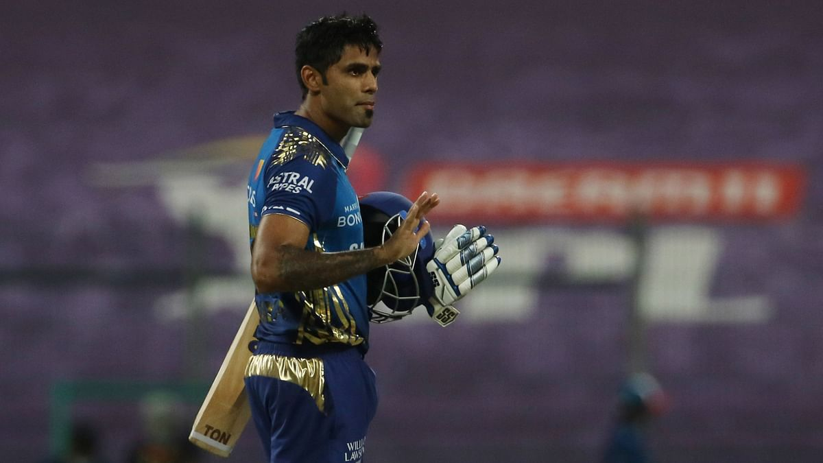 Suryakumar Yadav has been in terrific form for Mumbai Indians in this IPL as he amassed 480 runs.