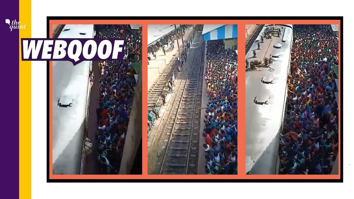 Fact-Check on Kolkata Station Video: An old video from 2018 was shared with a false claim that it showed a huge number of people boarding a train in Kolkata during the coronavirus pandemic.