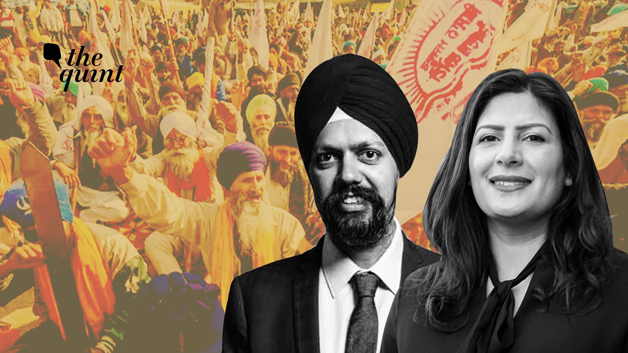 Leaders like Tanmanjeet Singh Dhesi and Preet Kaur Gill from UK, Jagmeet Singh from Canada have come out in support of protesting farmers.