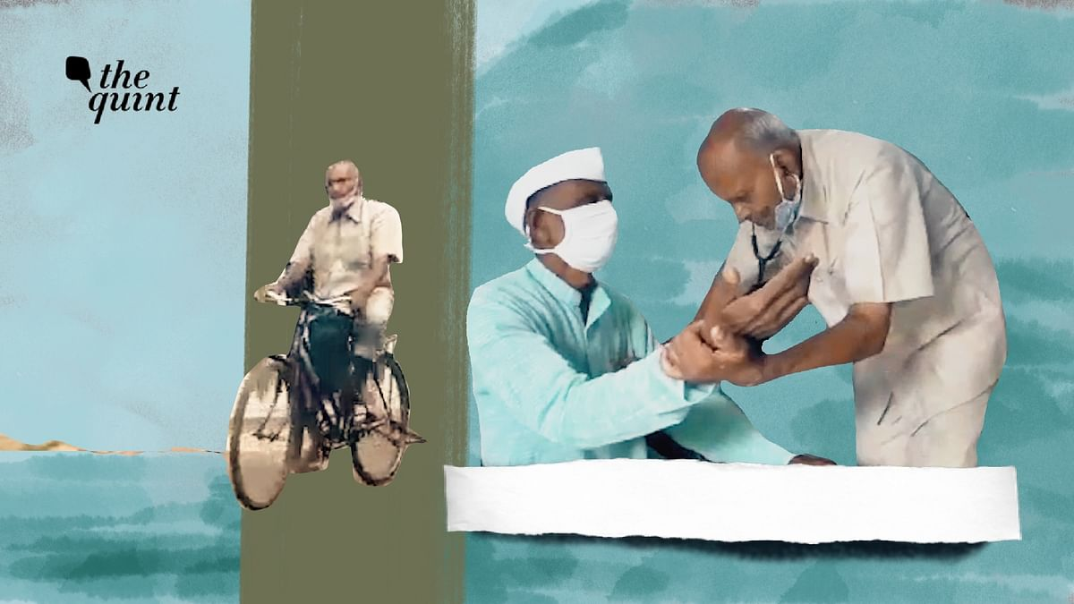 Braving COVID, Cycling to Patients: A Day in Life of 87-Yr-Old Doc