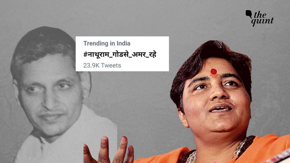 On Nathuram Godse's death anniversary, two hashtags hailing the man who killed Gandhi made it to the top trends in Twitter.