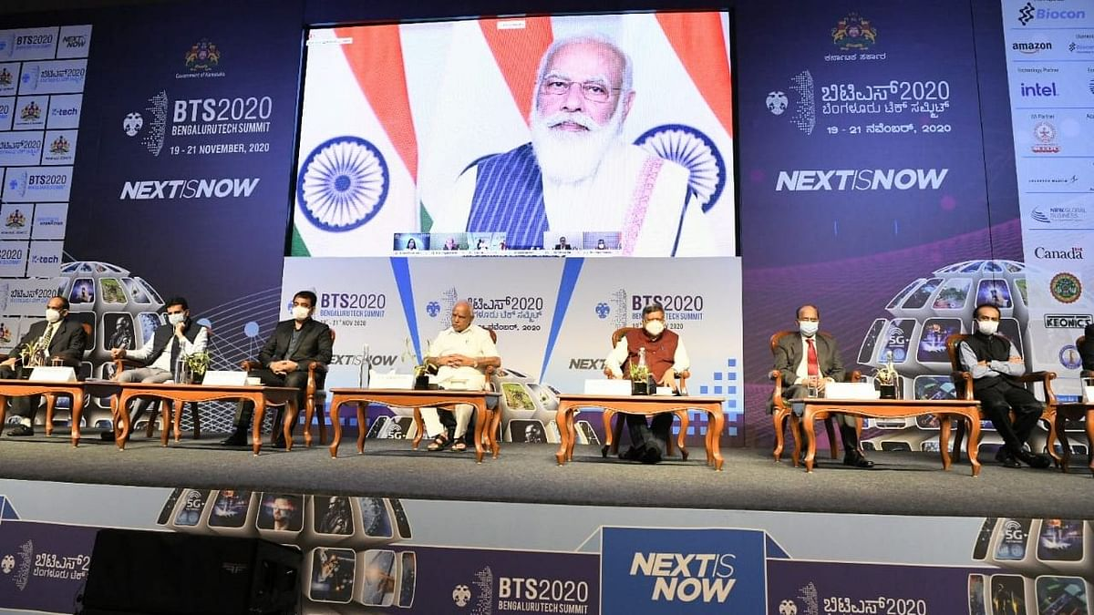 Have Made Technology Part of All Schemes: PM at B'luru Tech Summit - The Quint