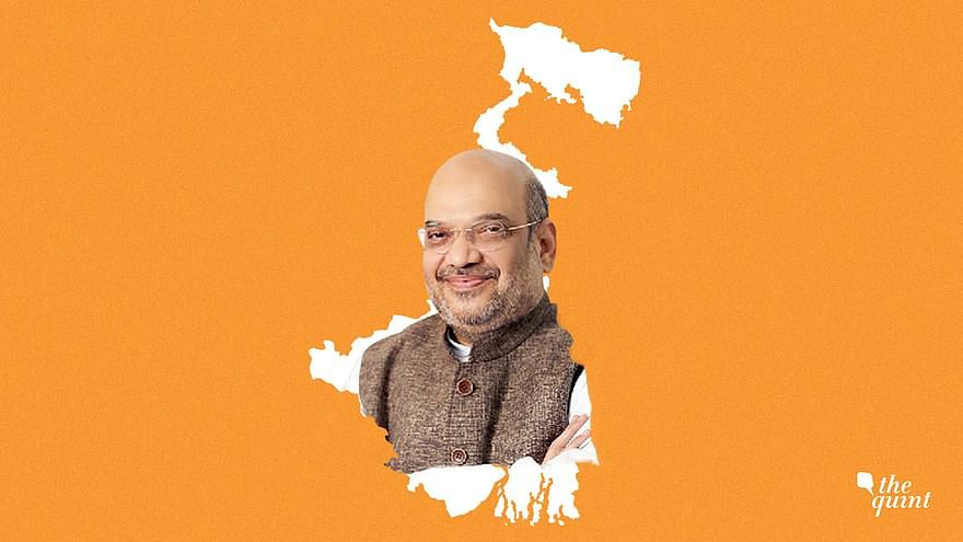 Home Minister Amit Shah spoke at a press meet at the end of a 2-day visit to prepare the BJP state party for the upcoming assembly elections.