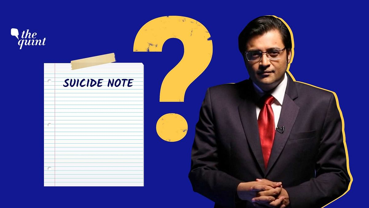 Arnab Goswami Arrested: Is Suicide Note Enough to Hold Him Guilty?