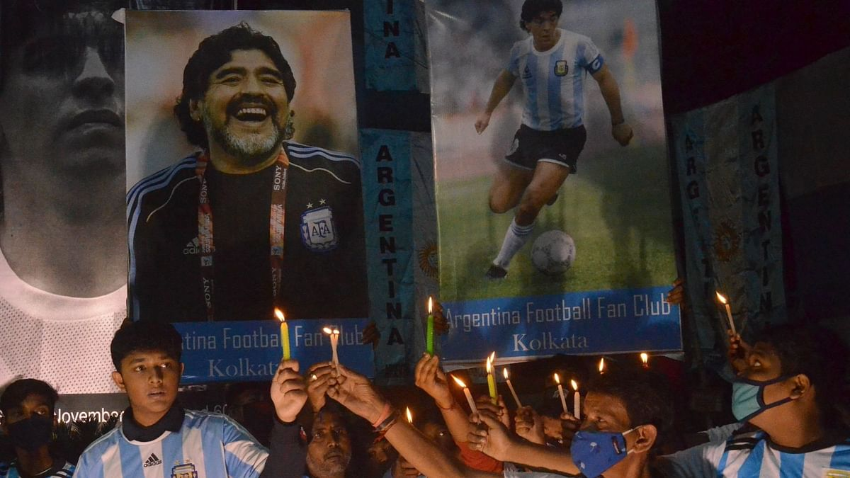 'You're Eternal': Kolkata Fans Mourn Maradona's Passing