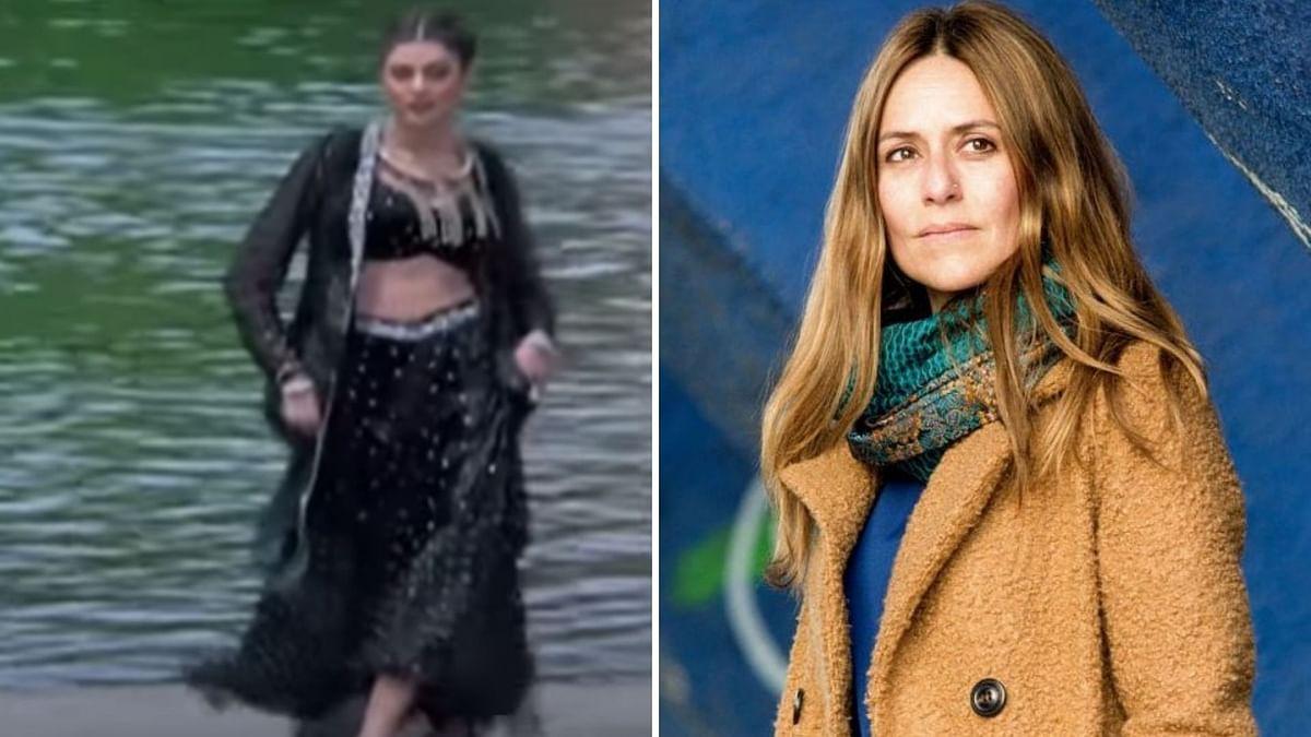 Money Heist's Raquel Hums 'Chunari Chunari', Sushmita Approves