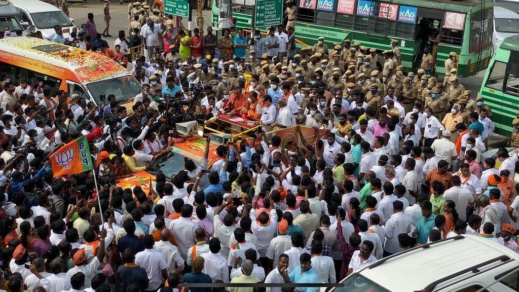 Will Not Allow Divisive Processions: AIADMK Slams BJP's  Vel Yatra