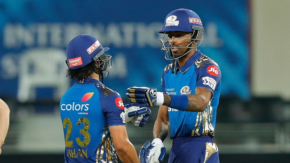 Rohit Out on a Duck, Ishan and Hardik Guide MI to 200 vs Delhi