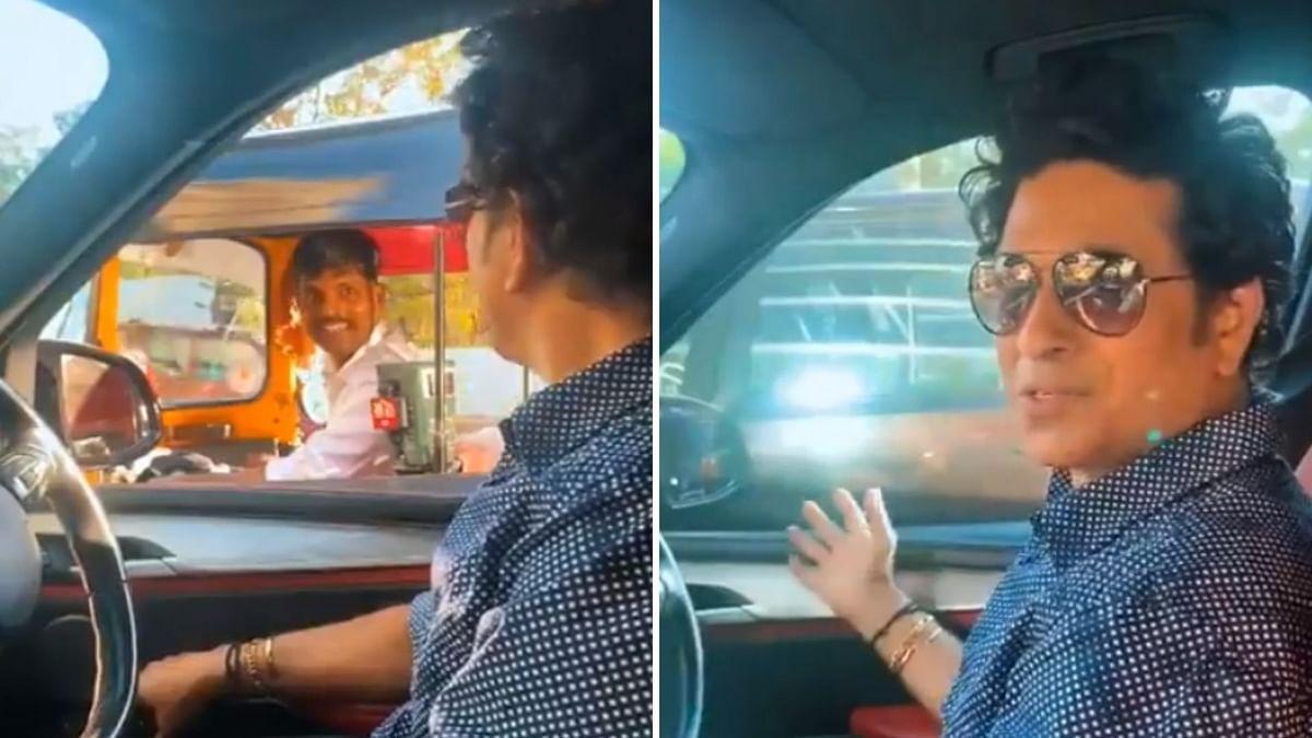 Watch: Auto Driver Helps Tendulkar Cut Through Heavy Traffic