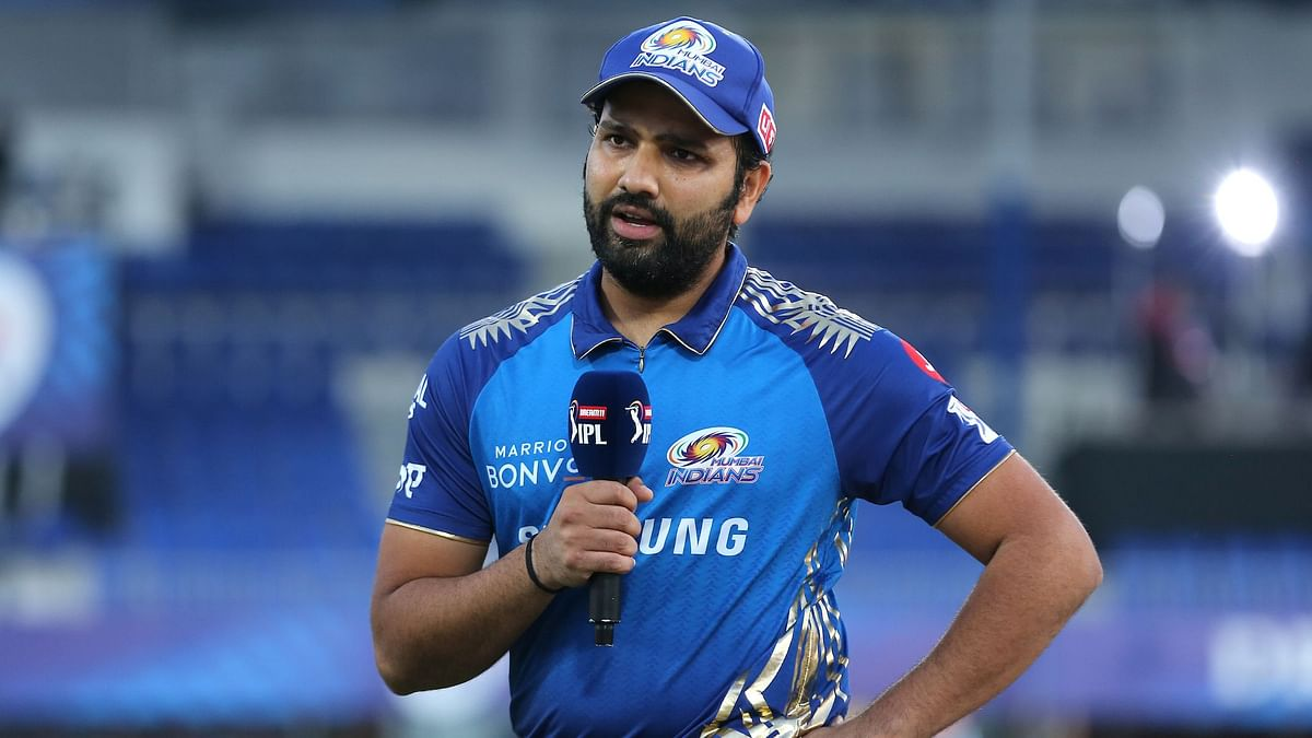 Rohit Sharma was back playing for Mumbai Indians after missing four games due to a hamstring injury.