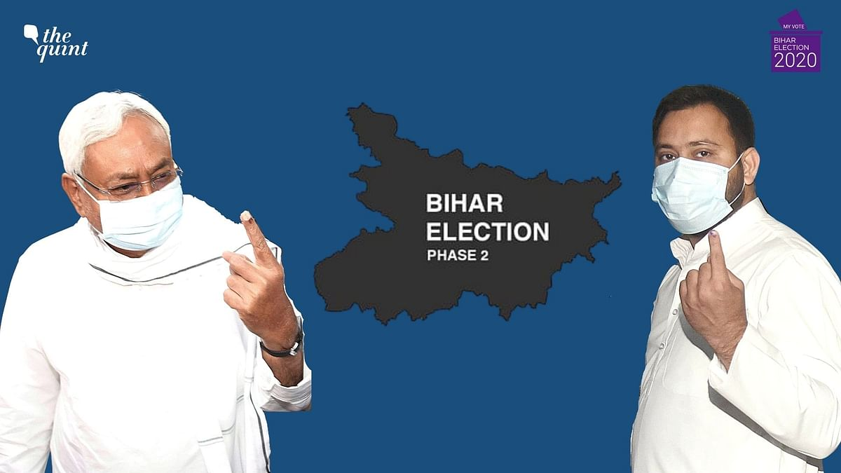 Catch all the updates on the second phase of voting for the Bihar Assembly elections here.