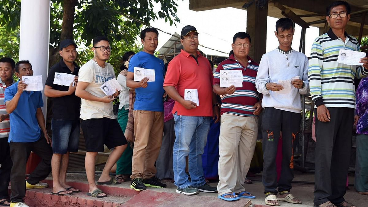 Over 92 percent of the 1,33,136-strong electorate had cast their votes in by-polls to the four assembly seats in Manipur on 7 November, Saturday.