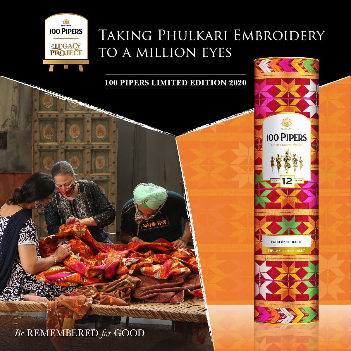100 Pipers Legacy Project Shines Spotlight on India's Dying Arts