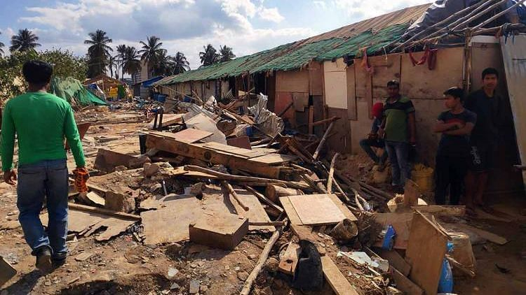 It was found that the demolition drive by the government, where over 100 families lost homes, was unauthorised.