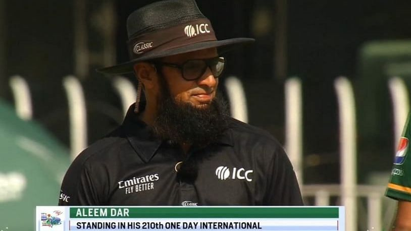 Umpire Aleem Dar Breaks Record for Officiating in Most No of ODIs