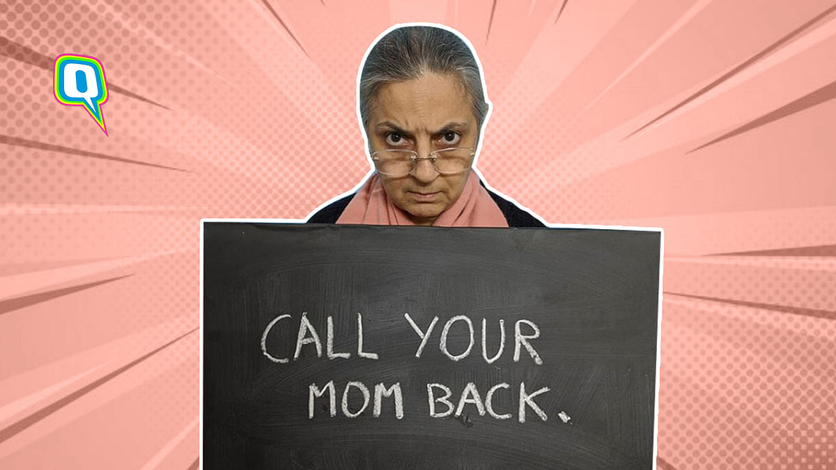 Poonam Sapra AKA  Mother With Sign' Is Every Desi Mom Ever
