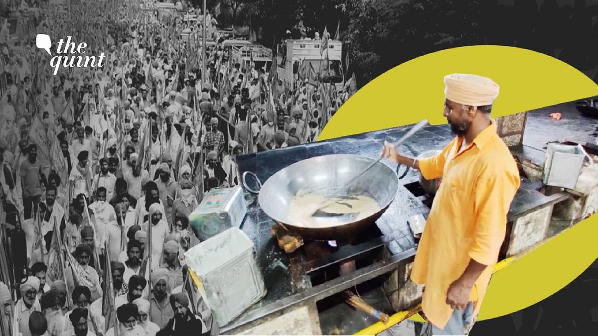 Majnu Ka Tila Gurudwara is among several other Sikh shrines in Delhi cooking meals for protesting farmers.