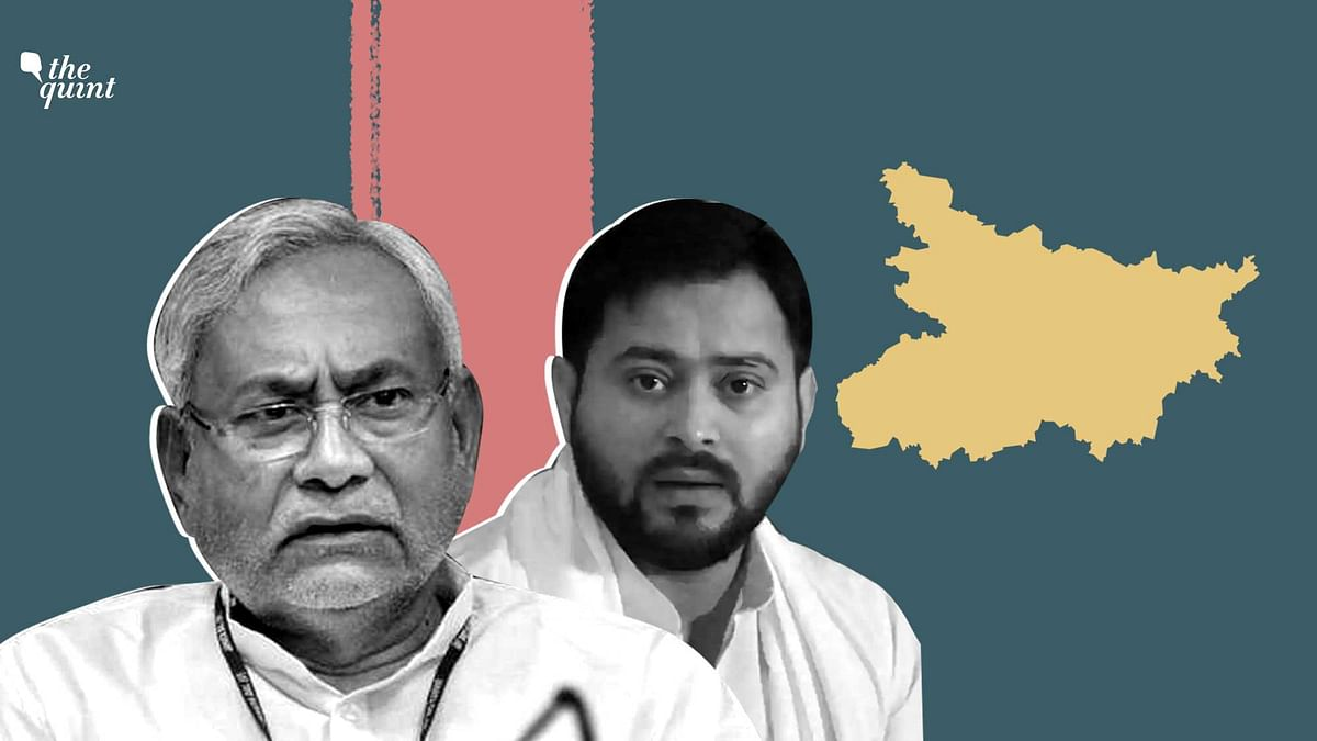 Image of Tejashwi Yadav (R) and Nitish Kumar (L) used for representational purposes.
