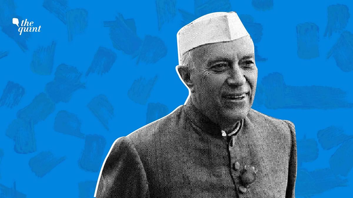 India's first Prime Minister Jawaharlal Nehru.