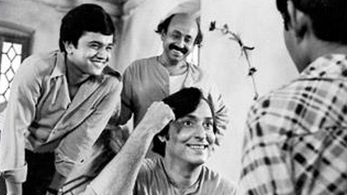 Soumitra Chatterjee and Siddhartha Chatterjee.