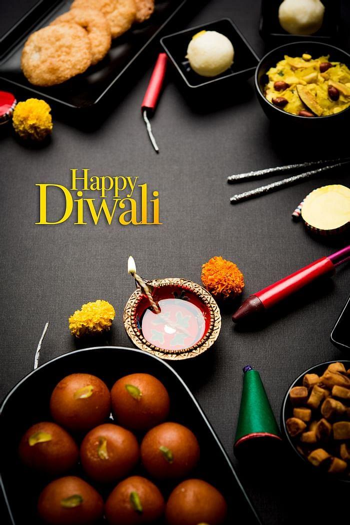 Happy Diwali 2020 wishes image to share on WhatsApp