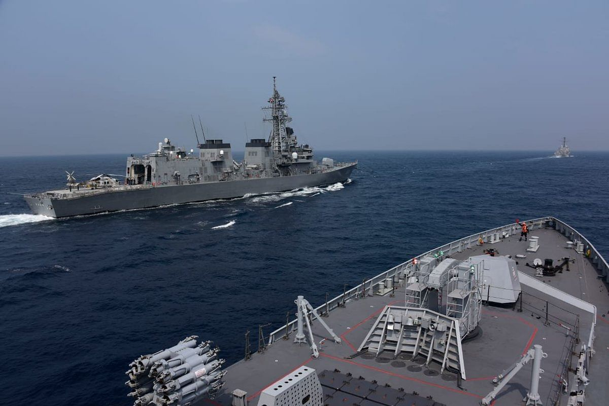 Malabar Naval Exercise Kicks Off in the Bay of Bengal